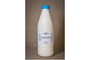 Молоко коровье цельное от фермера 1 л